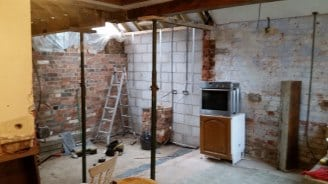 House renovation builder Burton on Trent - Kitchen Extension - Cropped