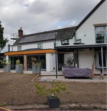 Builder Burton on Trent recent work – Extensions Builder