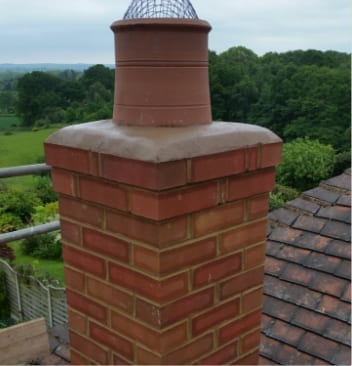 Builders-in-Swadlincote-recent-work-Chmney-Stack-rebuilt-