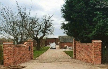 Gallery brick driveway entrance Derby 01